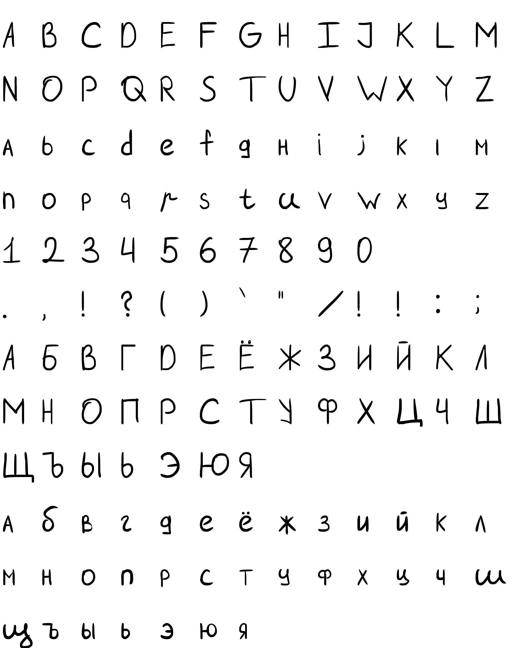 Шрифт Scotch(FONT BY LYAJKA)
